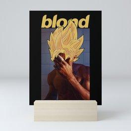 Blond Like a Super-Saiyan Mini Art Print