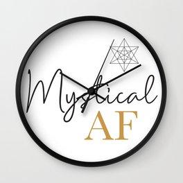 Mystical AF Wall Clock