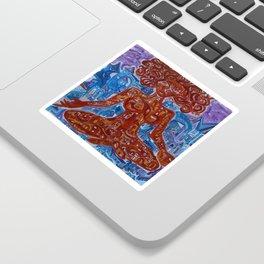 City Goddess Sticker