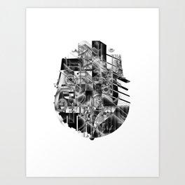 Ship Parts Art Print