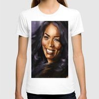 queen T-shirts featuring Queen by Lily Fitch