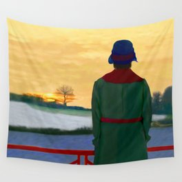 Can Spring be far behind? Wall Tapestry