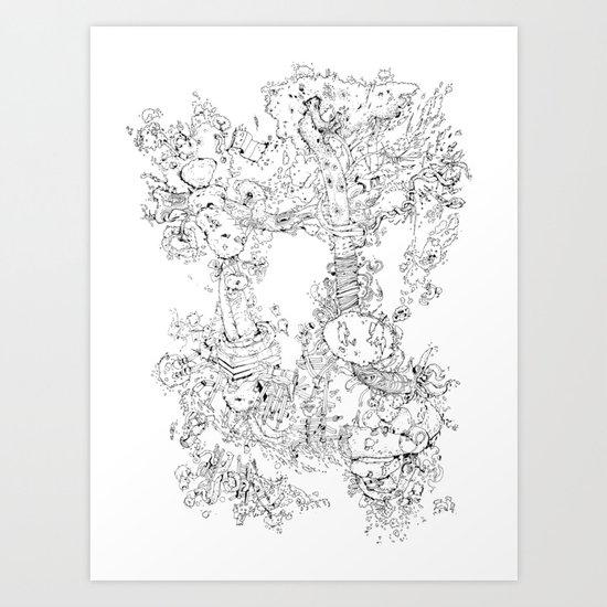 Pasolini`s Garden Art Print