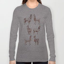LLAMARAMA Long Sleeve T-shirt