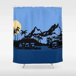 Southern Island Shower Curtain