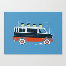 The Titanic Van Sinks Canvas Print