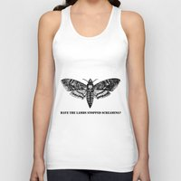 silence of the lambs Tank Tops featuring The lambs by Nightwatcher