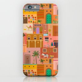 Marrakesh: The Red City iPhone Case