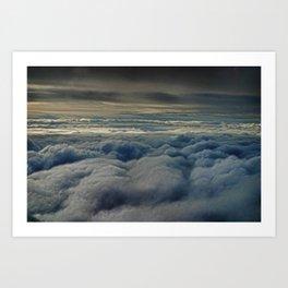 clouds1 Art Print