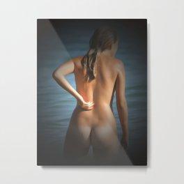 Naked NudeLady 42 Metal Print