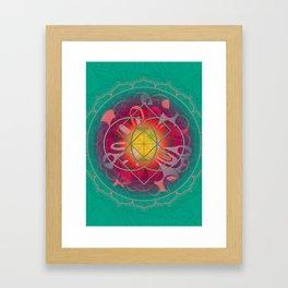 Love Bomb Framed Art Print