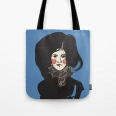 Mystery Blue Tote Bag