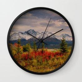 Seasons Turning Wall Clock