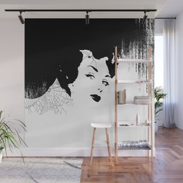 Spiderweb Wall Mural