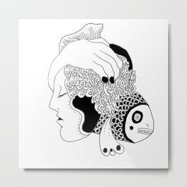 Pisces Metal Print