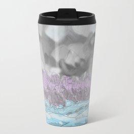 Water from Air hits Earth Travel Mug