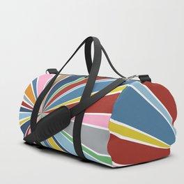 Star Burst Color Duffle Bag