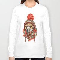 hawk Long Sleeve T-shirts featuring Hawk by Julia Badeeva