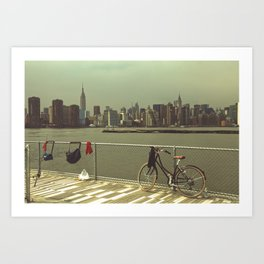 A Green Point Of View Art Print