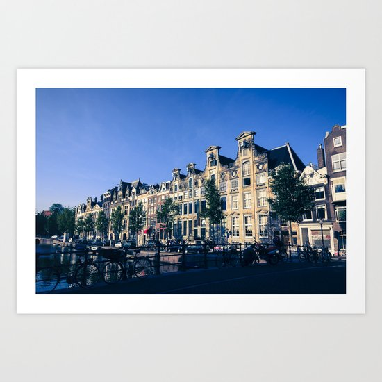 Herengracht Art Print