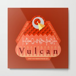 Welcome to Vulcan Metal Print