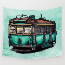 Melbourne Tram Wall Tapestry