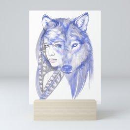 She Wolf Mini Art Print