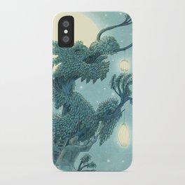 The Night Gardener - The Dragon Tree, Night iPhone Case