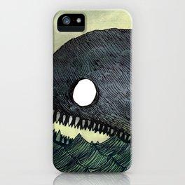 Monstrous Whale iPhone Case