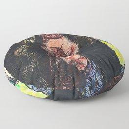 12,000pixel-500dpi Emile Bernard - The Countess Brushes Her Hair or Dancing Music - Digital Remaster Floor Pillow
