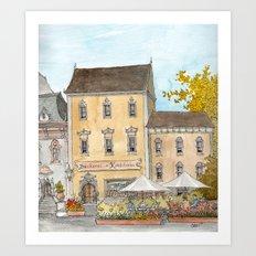 German Bakery Art Print