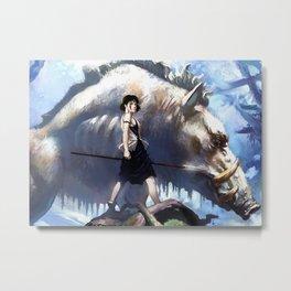 Princess Mononoke Metal Print