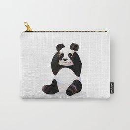 Cute big panda bear Carry-All Pouch