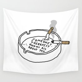 Therapy Tray Wall Tapestry