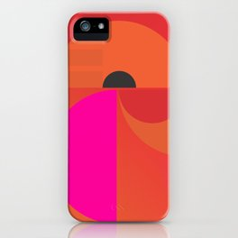 abstract construction 02 iPhone Case