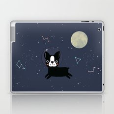 Boston Terrier In Space Laptop & iPad Skin