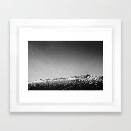 Mountains - Blueberry Lake, AK Framed Art Print