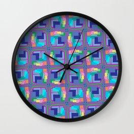 Animation Lavender Wall Clock