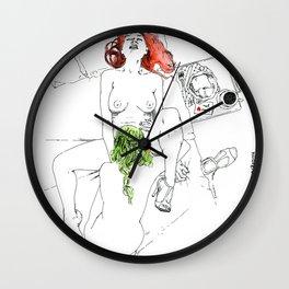 lovely breakfast 2 Wall Clock