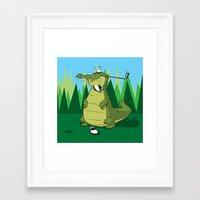 golf Framed Art Prints featuring Golf  by Tony Vazquez