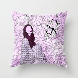 Daydream 2 Throw Pillow