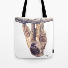 Wookie the Two-Toed Sloth Tote Bag