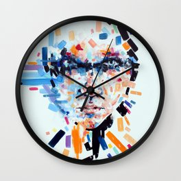 She slowly crumbles Wall Clock