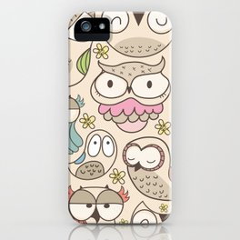 The owling iPhone Case