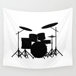 Drum Kit Wall Tapestry