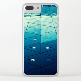 Surface Detail Clear iPhone Case