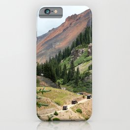 Red Mountain Pass Convoy iPhone Case