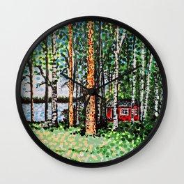 The Escape Hut Wall Clock