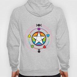 LGBT Elemental Pentagram Hoody
