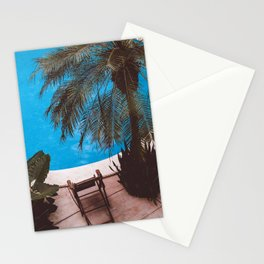 Acapulco pool Stationery Cards